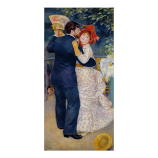 Pierre A Renoir | A Dance in the Country Poster