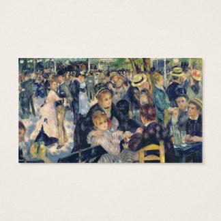 Pierre A Renoir   Ball at the Moulin de la Galette Business Card