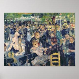 Pierre A Renoir | Ball at the Moulin de la Galette Poster