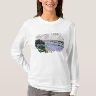 Pierre A Renoir | Barges on the Seine T-Shirt