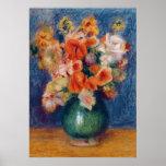Pierre A Renoir   Bouquet Poster