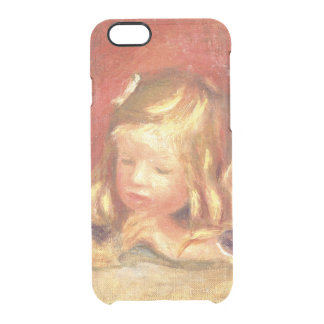 Pierre A Renoir | Coco at the Table  Clear iPhone 6/6S Case