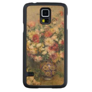 Pierre A Renoir   Dahlias Carved Maple Galaxy S5 Case