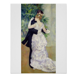 Pierre A Renoir | Dance in the City, 1883 Poster