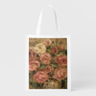 Pierre A Renoir | Flowers Reusable Grocery Bag