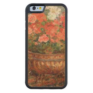 Pierre A Renoir | Geraniums in a Copper Basin Maple iPhone 6 Bumper Case
