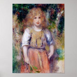 Pierre A Renoir | Gypsy Girl Poster