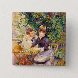 Pierre A Renoir | In the Garden 2 Inch Square Button