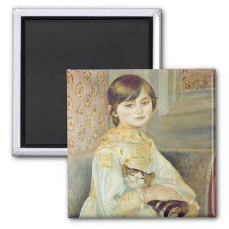 Pierre A Renoir | Julie Manet with Cat Magnet
