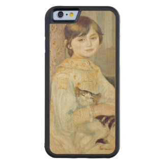 Pierre A Renoir | Julie Manet with Cat Maple iPhone 6 Bumper