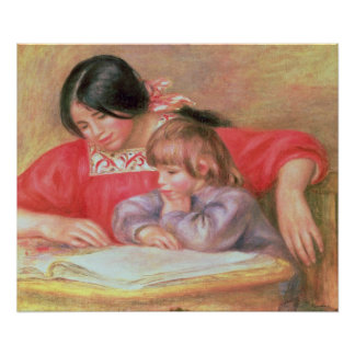 Pierre A Renoir | Leontine and Coco Poster