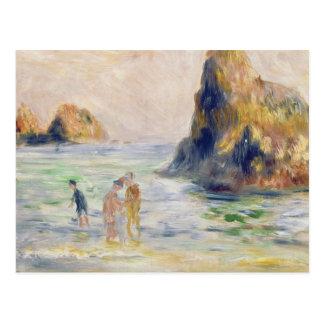 Pierre A Renoir | Moulin Huet Bay, Guernsey Postcard