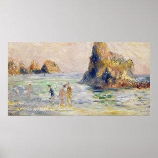 Pierre A Renoir | Moulin Huet Bay, Guernsey Poster