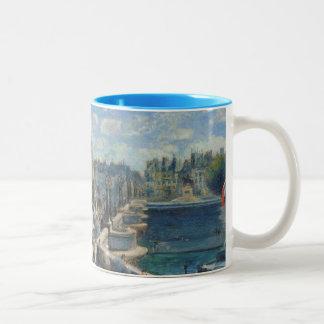 Pierre A Renoir   Pont Neuf, Paris Two-Tone Coffee Mug