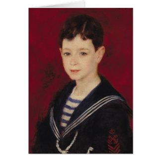 Pierre A Renoir | Portrait of Fernand Halphen Card
