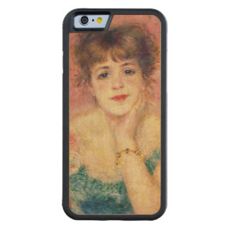 Pierre A Renoir | Portrait of Jeanne Samary Maple iPhone 6 Bumper