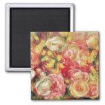 Pierre A Renoir   Roses Magnet