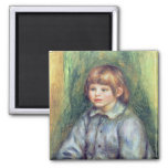 Pierre A Renoir | Seated Portrait of Claude Renoir Magnet
