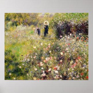 Pierre A Renoir | Summer Landscape Poster