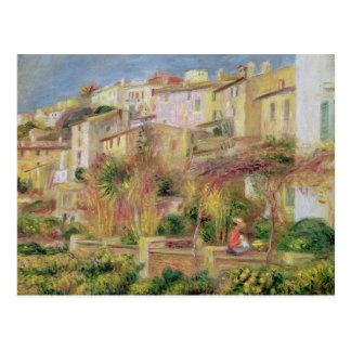 Pierre A Renoir   Terrace in Cagnes Postcard