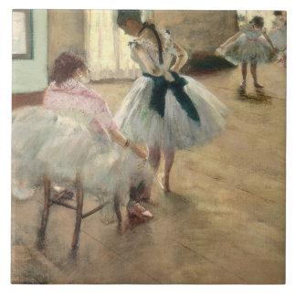 Pierre A Renoir | The Dance Lesson Ceramic Tile