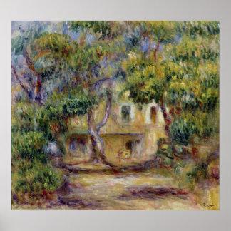Pierre A Renoir | The Farm at Les Collettes Poster