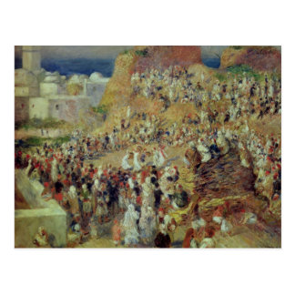 Pierre A Renoir | The Mosque, or Arab Festival Postcard