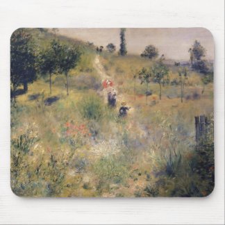 Pierre A Renoir | The Path through the Long Grass Mouse Pad