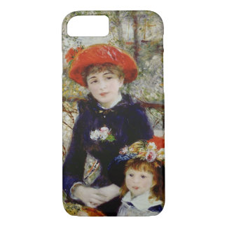 Pierre A Renoir | Two Sisters, or On The Terrace iPhone 7 Case