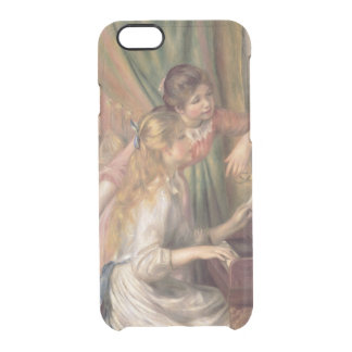 Pierre A Renoir | Young Girls at the Piano Clear iPhone 6/6S Case