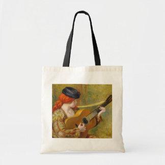 Pierre A Renoir | Young Spanish Woman w/ a Guitar
