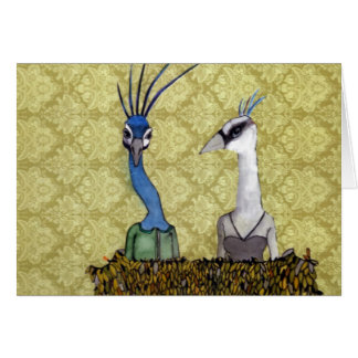 Pierre and Penelope Greeting Card
