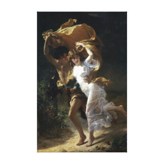 Pierre-Auguste Cot The Storm Canvas Print