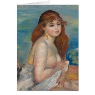 Pierre-Auguste Renoir After the bath CC0444 Card