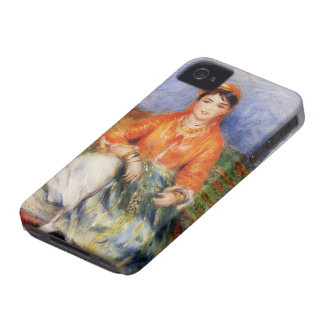 Pierre-Auguste Renoir- Algerian Girl iPhone 4 Case