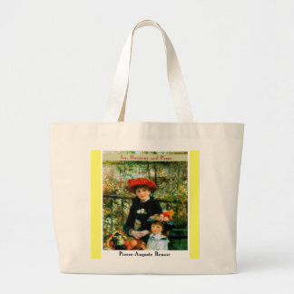 Pierre Auguste Renoir Tote Bags