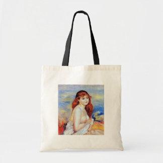 Pierre Auguste Renoir - Bather Budget Tote Bag