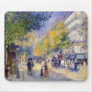 Pierre Auguste Renoir - Boulivards of Paris Mouse Pad