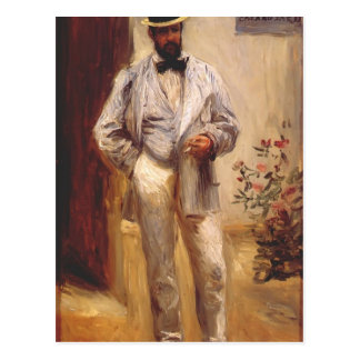 Pierre-Auguste Renoir- Charles le Coeur Postcard