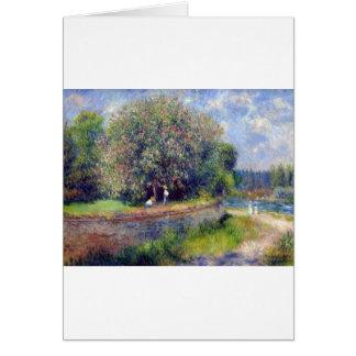 Pierre-Auguste Renoir Chestnut Tree Card