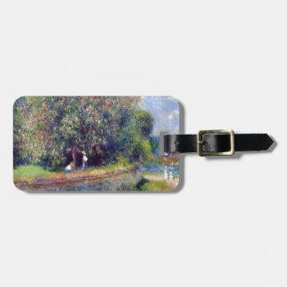 Pierre-Auguste Renoir Chestnut Tree Luggage Tag