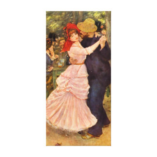Pierre-Auguste Renoir Dance at Bougiva Canvas Print