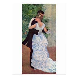 Pierre-Auguste Renoir - Danse à la ville (1883) Postcard