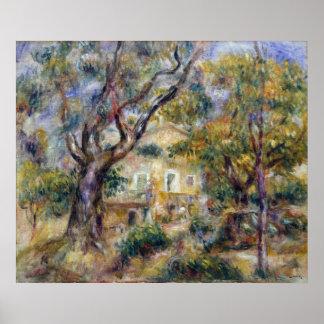 Pierre-Auguste Renoir Farm Les Collettes, Cagnes Poster