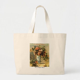 Pierre-Auguste Renoir - Inspirational Large Tote Bag