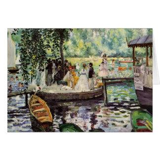 Pierre-Auguste Renoir- La Grenouillere Card