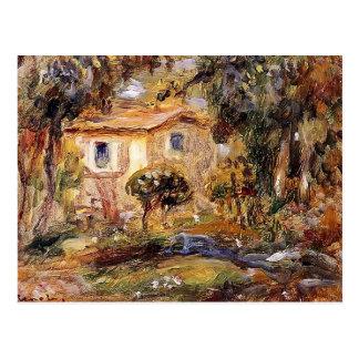 Pierre-Auguste Renoir- Landscape Postcard