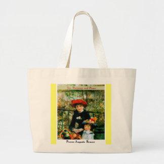Pierre Auguste Renoir Large Tote Bag