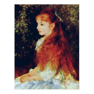 Pierre-Auguste Renoir- Mlle Irene Cahen d'Anvers Postcard