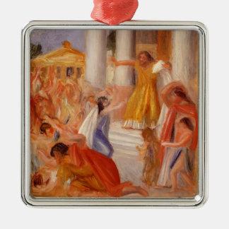 Pierre-Auguste Renoir- Oedipus Rex Metal Ornament